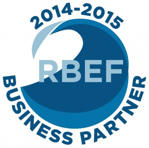 2014-2015 RBEF business partner sticker